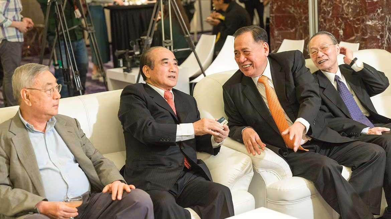 華人熟齡生活產業發展協會成軍 聲寶總裁陳盛沺任首任理事長