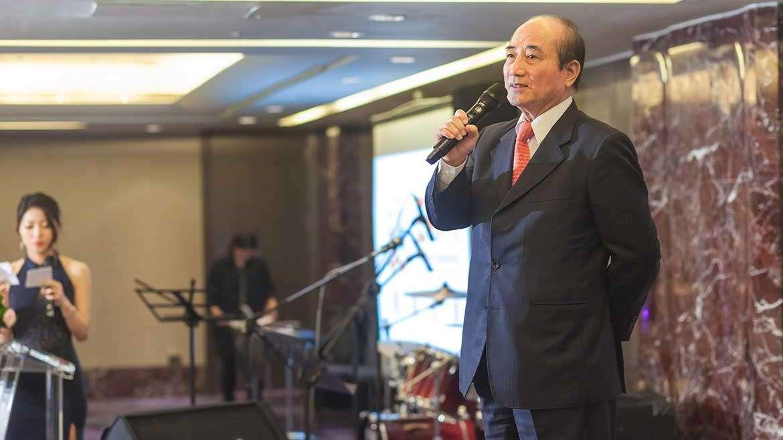 華人熟齡生活產業發展協會開幕酒會,敦聘王金平委員為名譽理事長